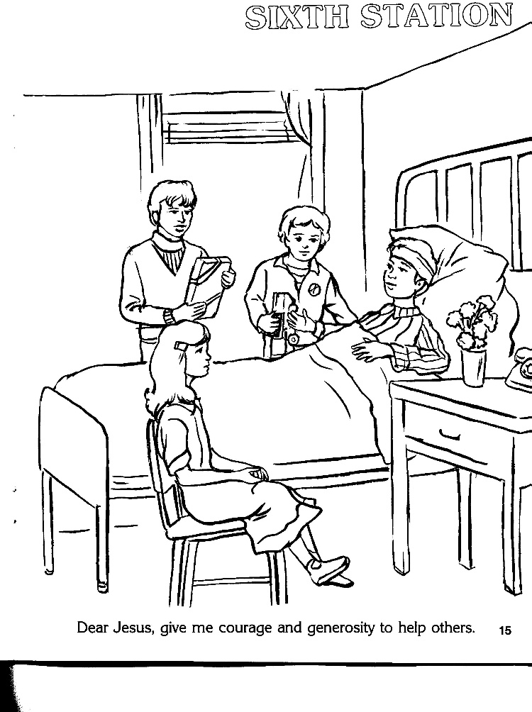 roman catholic coloring pages - photo#23